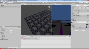 First implementation of the tile terrain game object